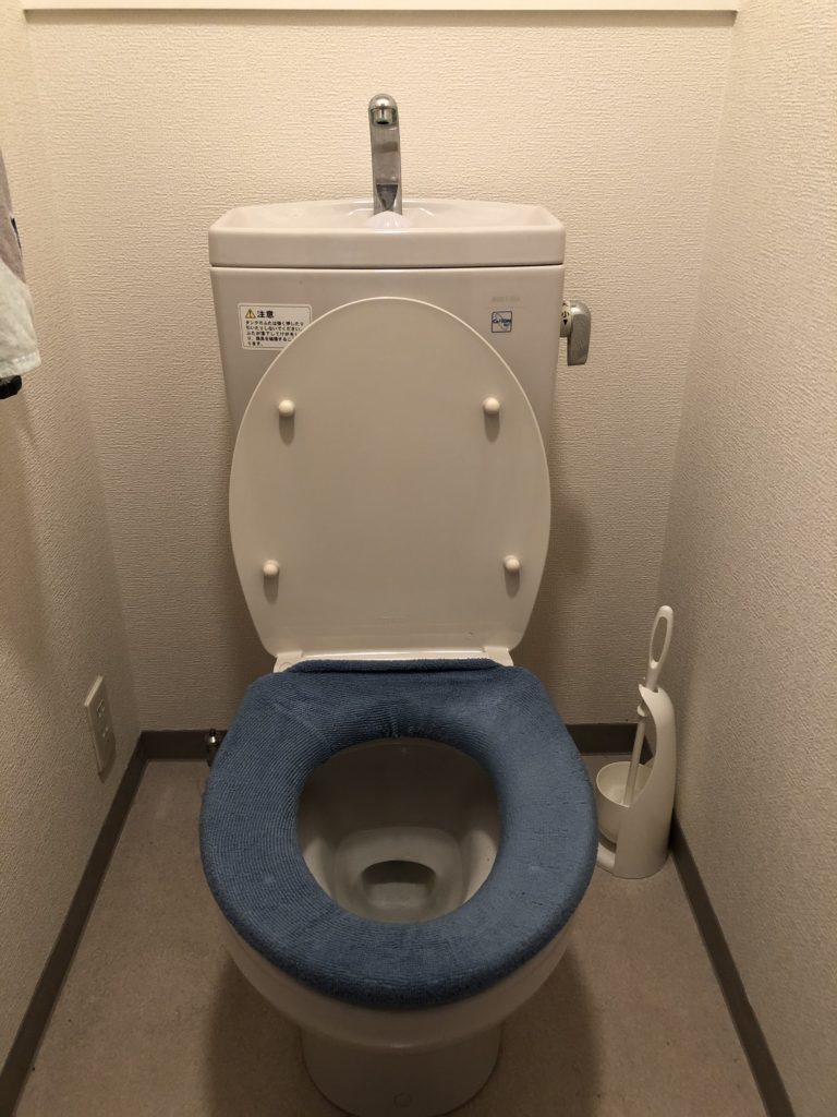 詰まったトイレを解決し、使用法についてアドバイスすると喜ばれました