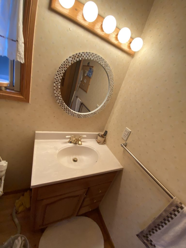 洗面所の水漏れ修理を依頼されました。