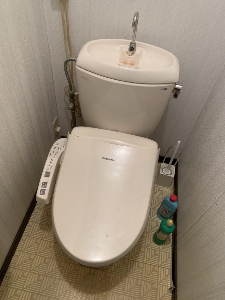 トイレ詰まりの修理の際のお客様の言葉