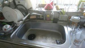 キッチンの排水つまり