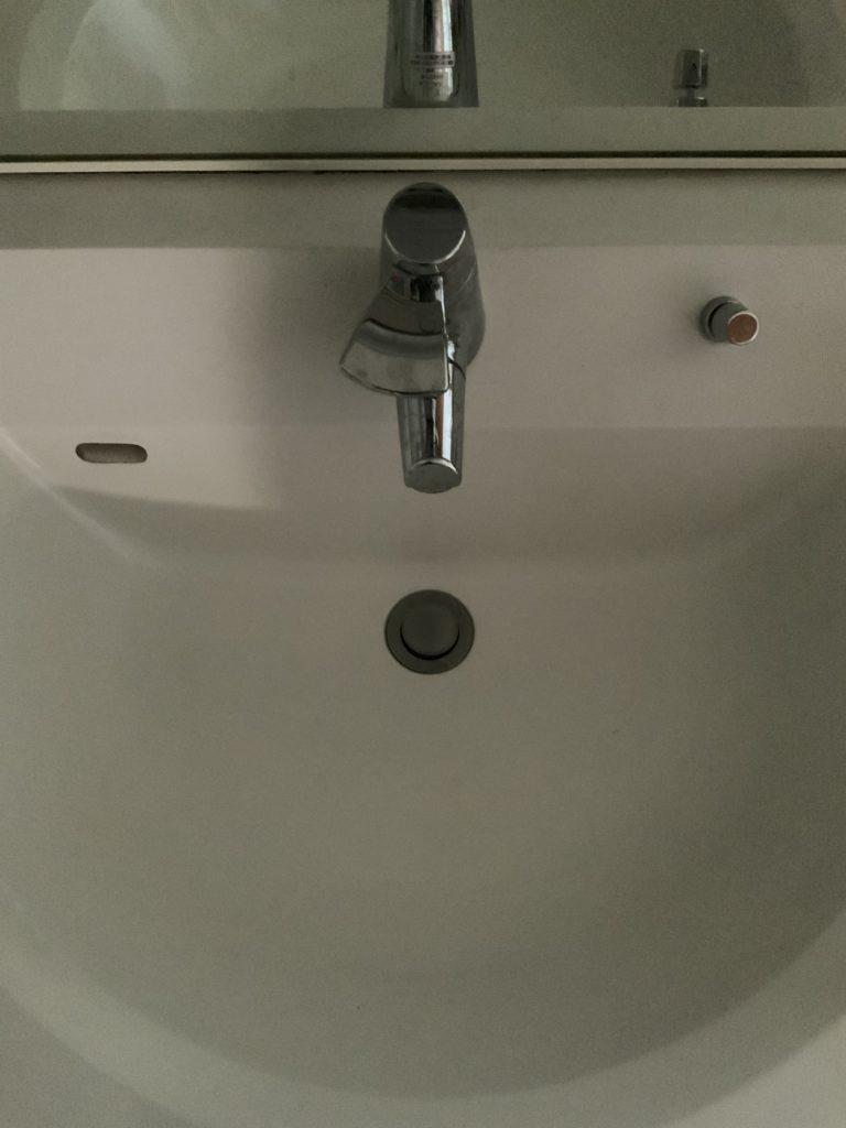 赤平市で洗面の蛇口水漏れ修理を行いました。