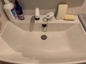 洗面所の水漏れ修理