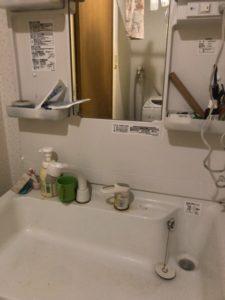 洗面水漏れ修理