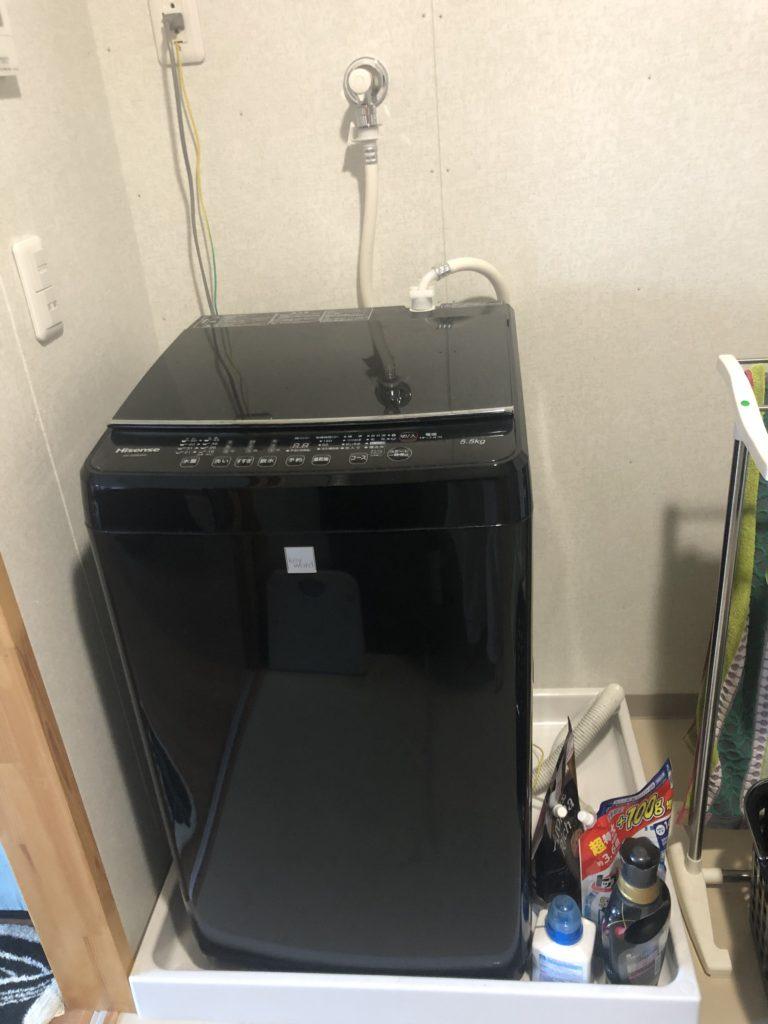 北斗市で洗濯排水つまり修理の施工事例