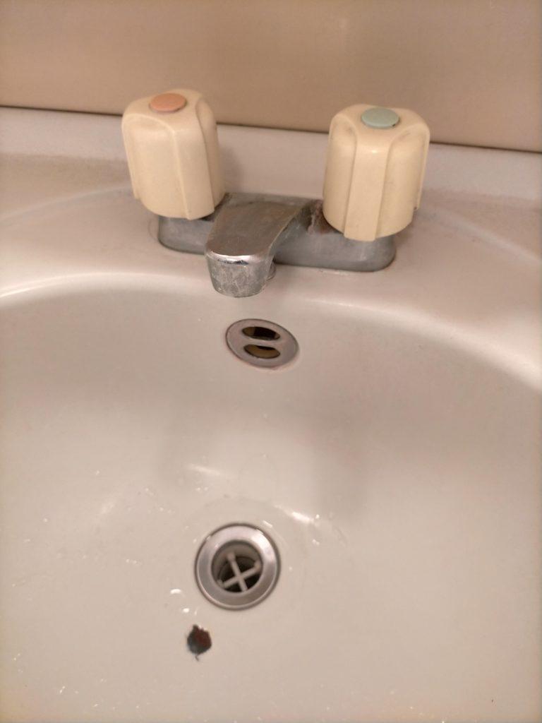 千歳市で洗面つまりトラブル解決事例
