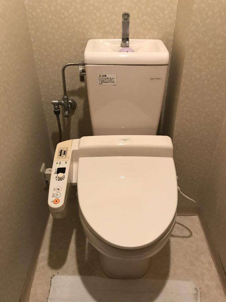 富良野市でトイレ水漏れ修理を行いました。