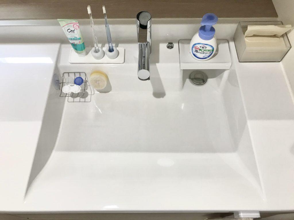 札幌市南区で洗面の蛇口水漏れ修理を行いました。