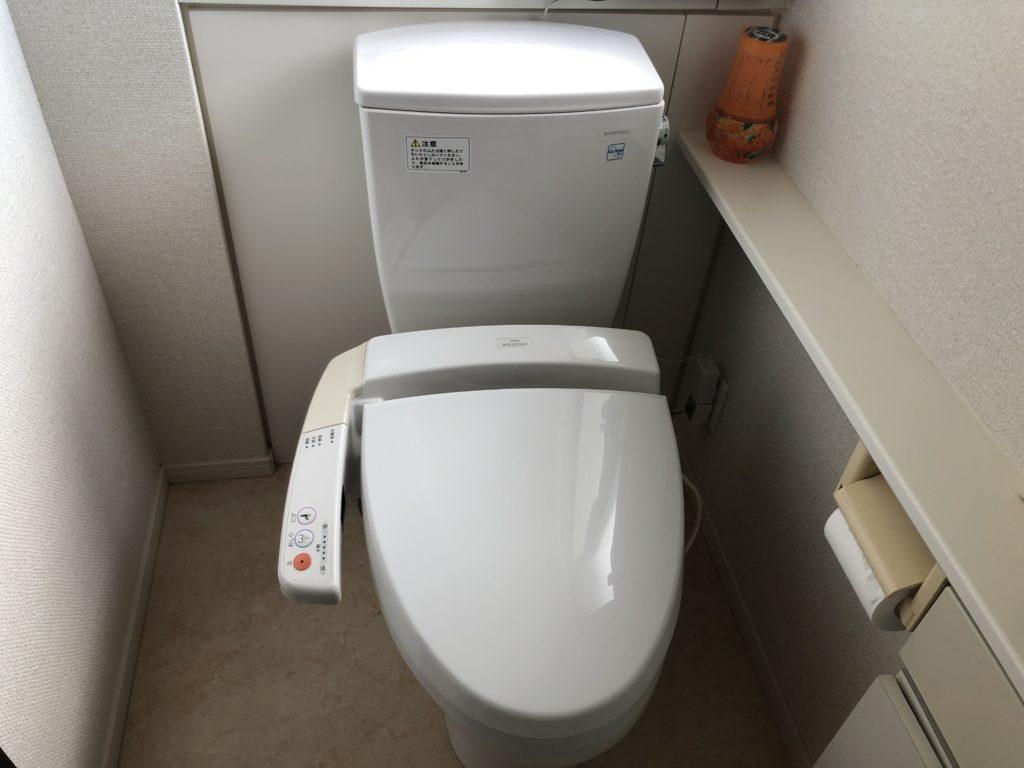 北見市でトイレの水漏れ修理を行いました。