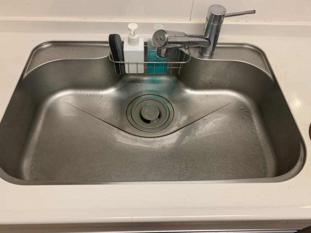 網走市で台所の排水つまりトラブルを解決しました。