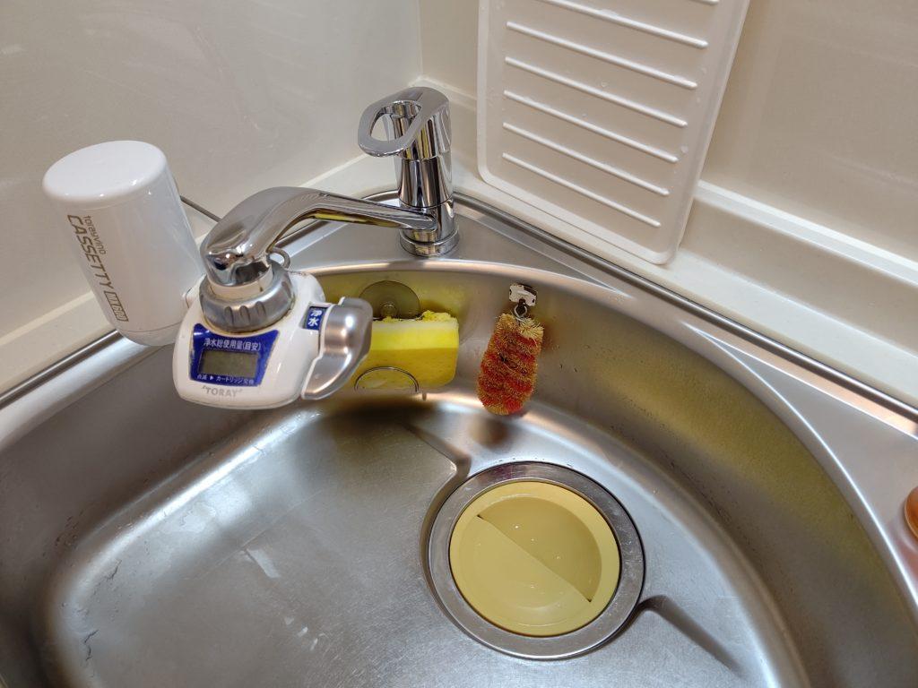 天塩郡幌延町で台所の排水つまりトラブルを解消しました。
