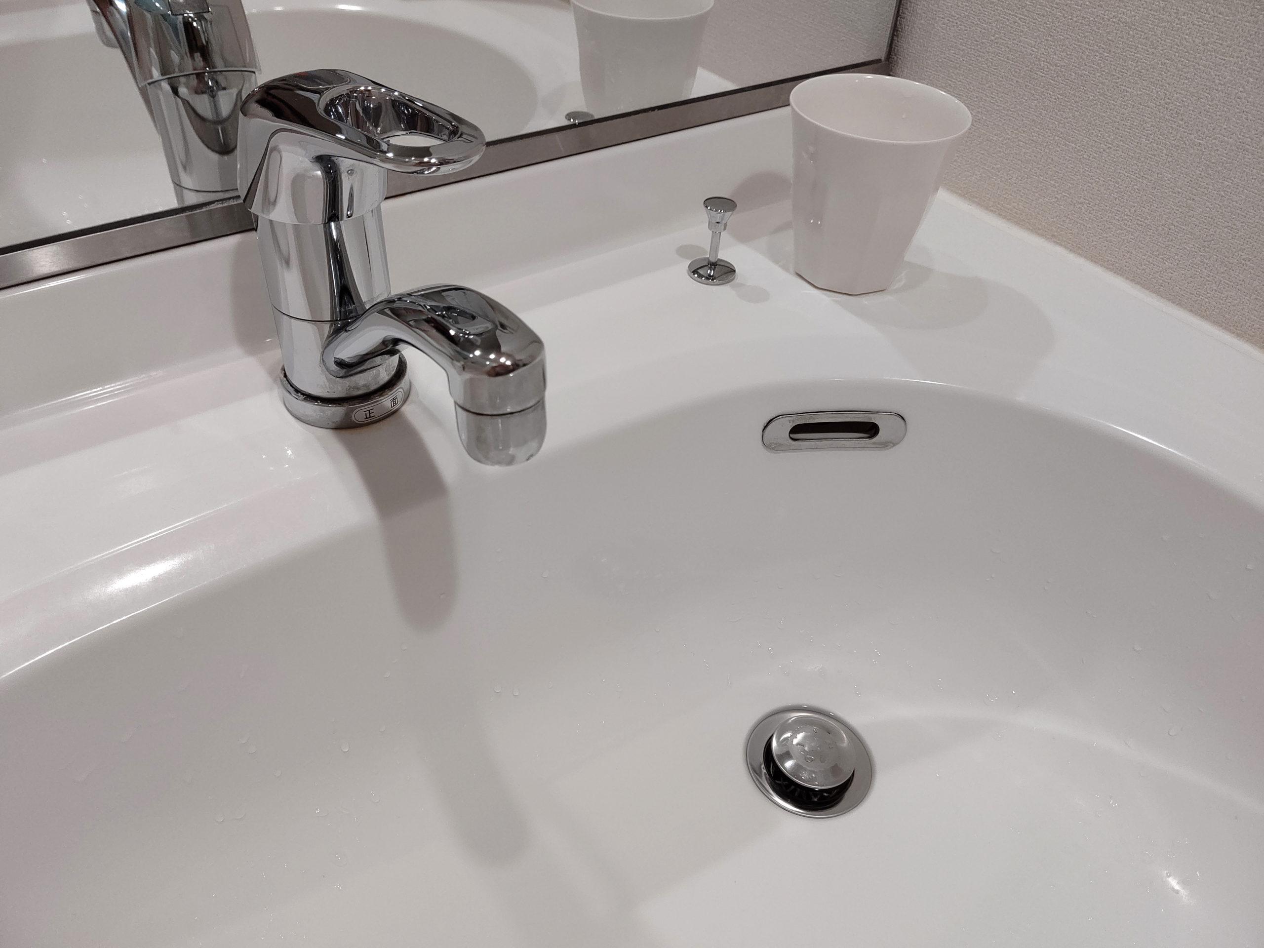 混合水栓の水漏れ