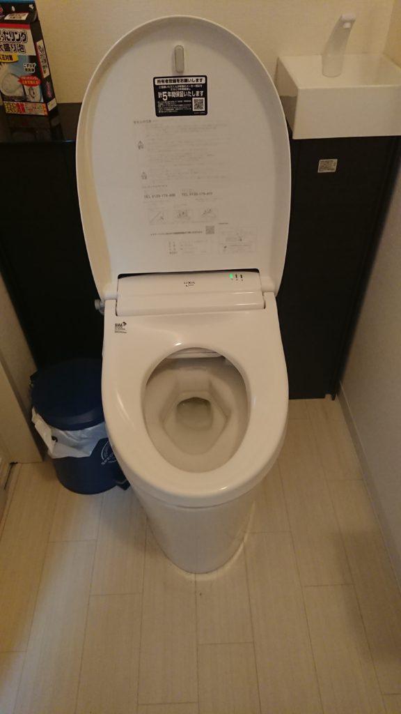 浦河町でトイレつまり修理を行いました。