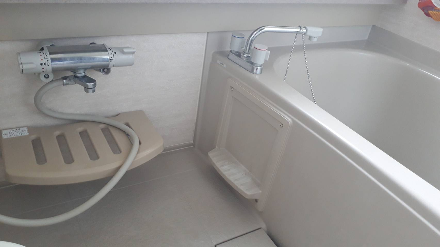 シャワーホース修理