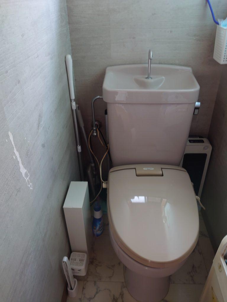 浦幌町でトイレの水漏れ修理を行いました。