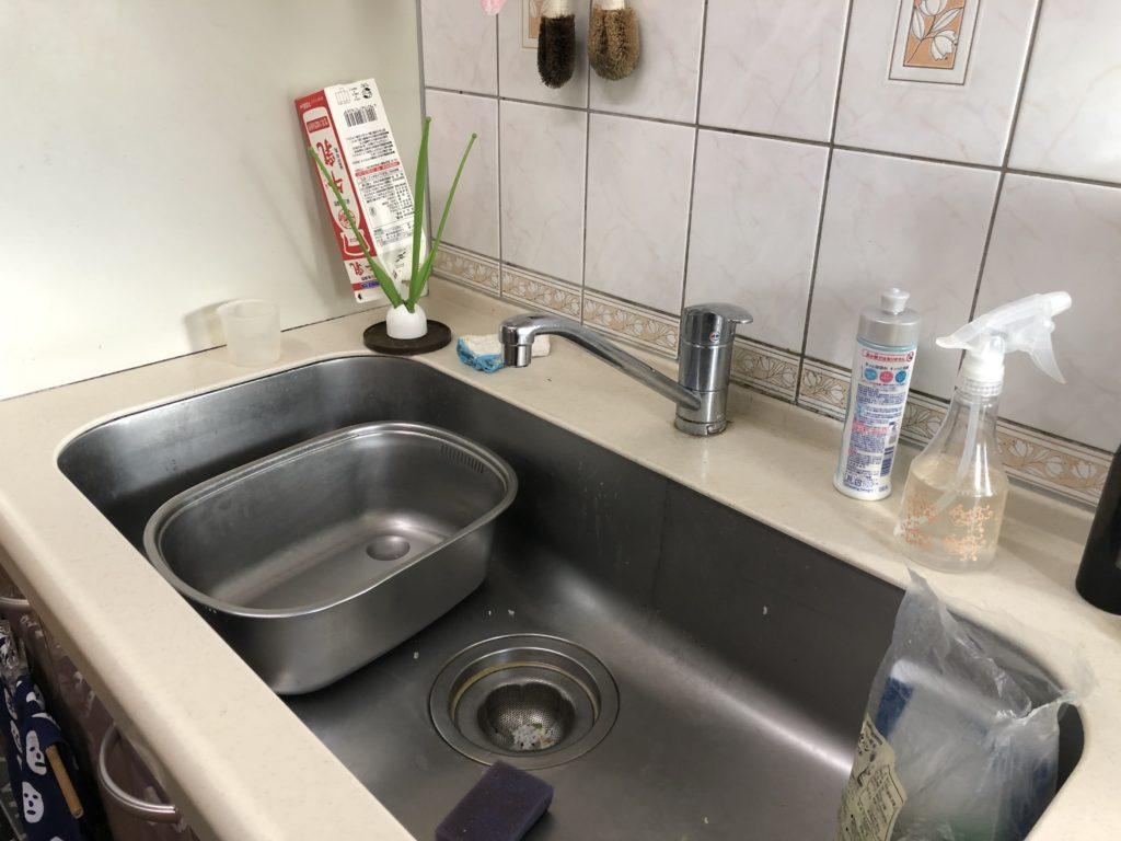 北海道室蘭市寿町でキッチンの蛇口水漏れ解消