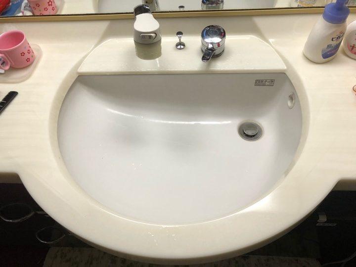 洗面の水漏れ